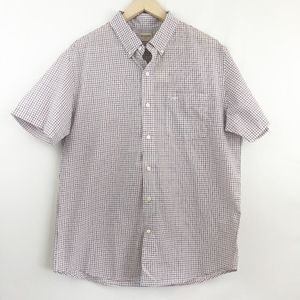 Dockers Standard Fit Short Sleeve Button Down